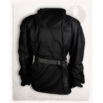 Bastian Shirt Cotton Black