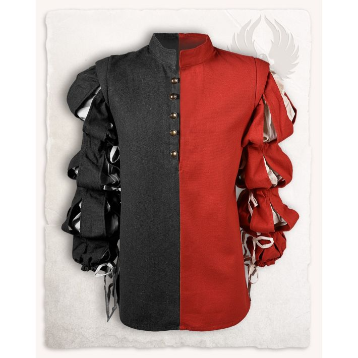 "Doublet ""Jörg"" - Black/Red"