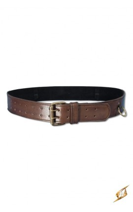 Ring Belt - Brown - 120cm 100805 Iron Fortress