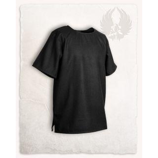 Tunika Godwin - wełniana - czarna