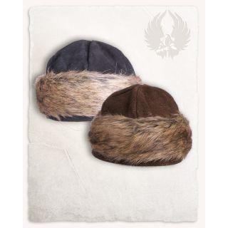 """Suede Fur Cap """"Ragi"""""""