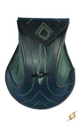 Elfia torba - czarna/zielona