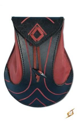 Elfia torba - czarna/czerwona