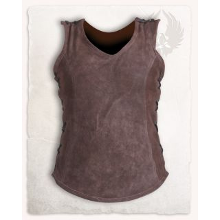 Dana Leather Vest