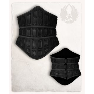 Evandra Leather Bodice