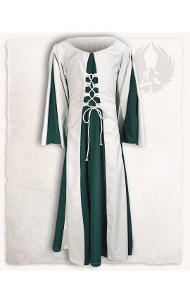 "Dress ""Kirian"" - Green/Cream"