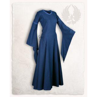"Premium Canvas Dress ""Lenora"" - Blue"