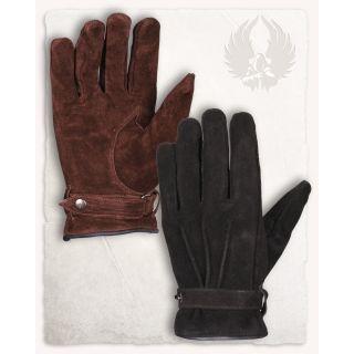 Zamszowe rękawice Hartwig