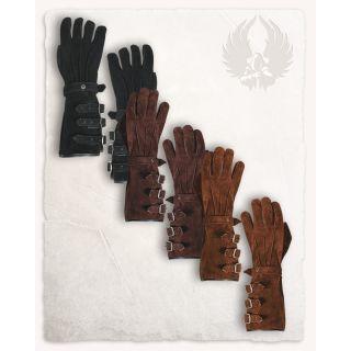 Zamszowe rękawice Kandor