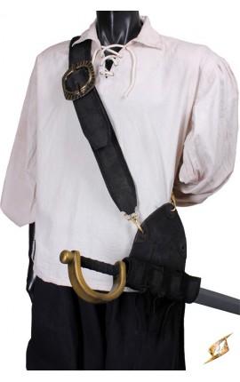 Musketeer Baldric - Black (DH)
