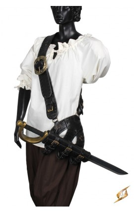 Pirate Baldric - Black 101564 Iron Fortress