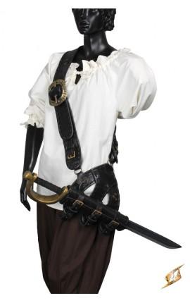 Pirate Baldric - Black (DH)