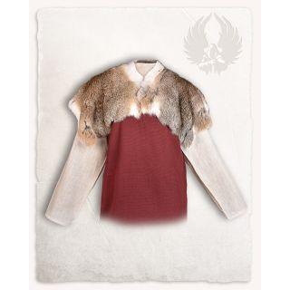 Fur collar Flemish Giant Sandy