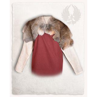 Fur collar Flemish Giant Steel Grey