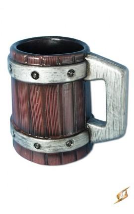 Kufel Z Metalowymi Obręczami