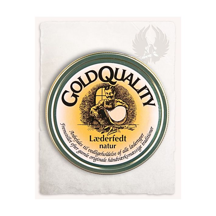 """""""Gold Quality"""" leather grease"""