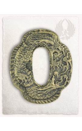 Dragon guard (Tsuba)