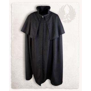 Płaszcz z peleryną Bron  - wełna