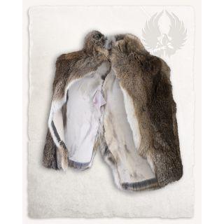 Fur stole Flemish Giant Sandy