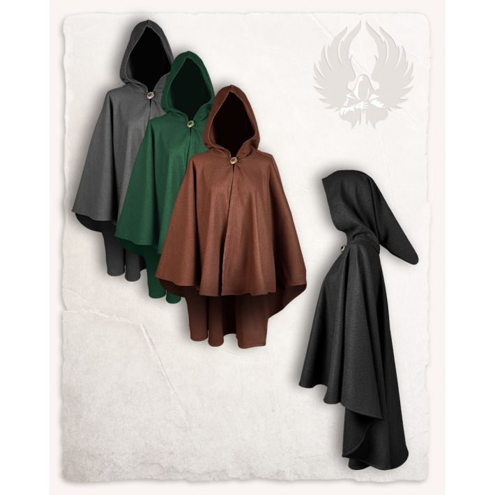 Kim short cape - wool