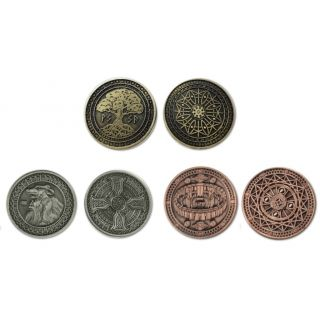 Earth-element coins