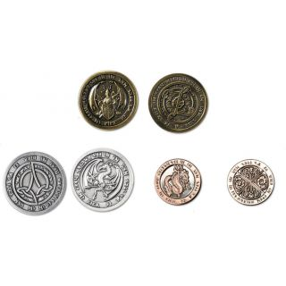 Fire-element coins