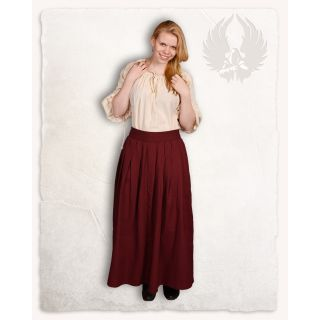 "Skirt ""Anna"" - Bordeaux"