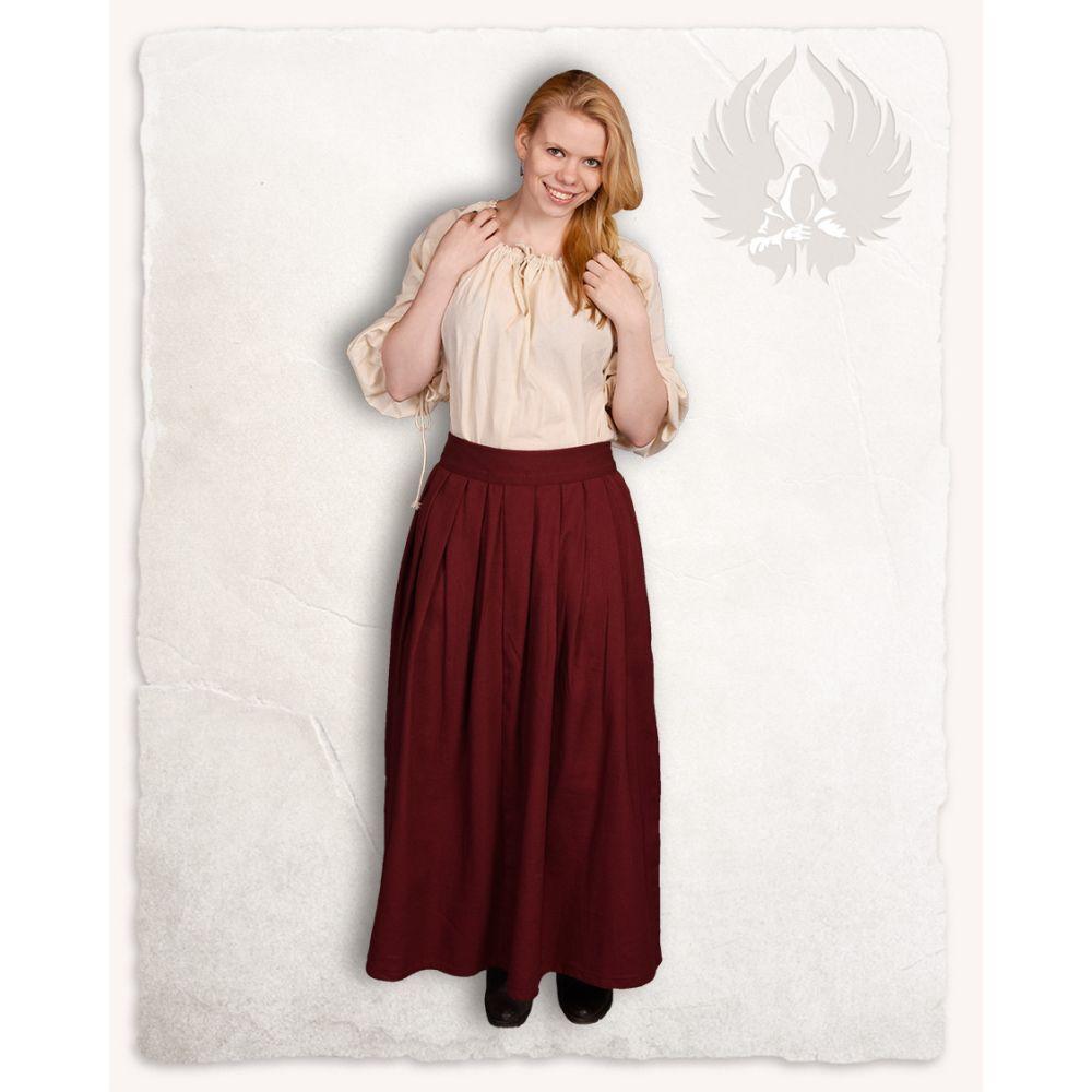 "Skirt ""Anna"" - Bordeaux"