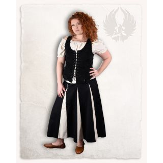 """Skirt """"Isabell"""" - Black/Bordeaux"""