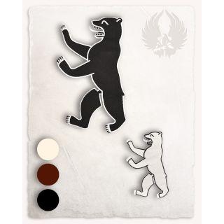 Naszywka - niedźwiedź