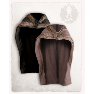 Bjorn cape with faux fur