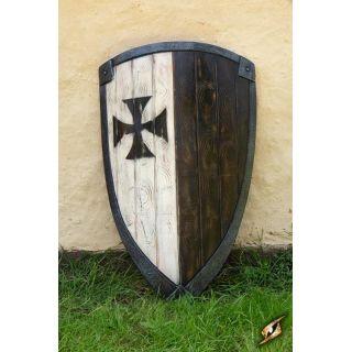 Czarna tarcza Templariuszy