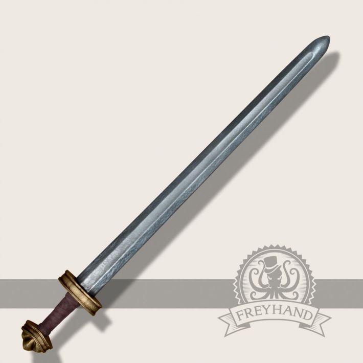 Olaf longsword gold Freyhand