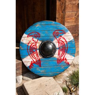 Iarla shield - Huginn & Muninn