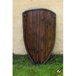 Footman shield - wood