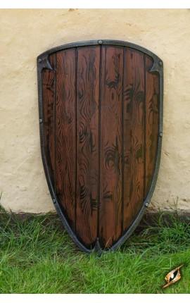 Drewniana tarcza piechura
