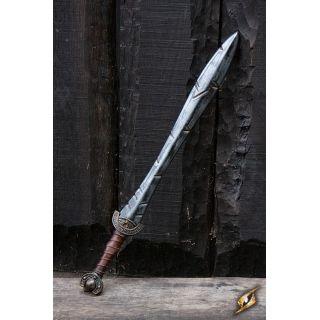 Wyszczerbiony celtycki miecz