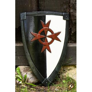 Crusader Shield - black/white