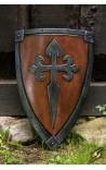 Crusader Shield - wood/steel