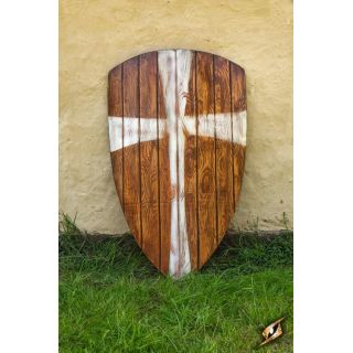 Crusader Shield - black/white