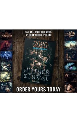 Kalendarz Witcher School na rok 2020