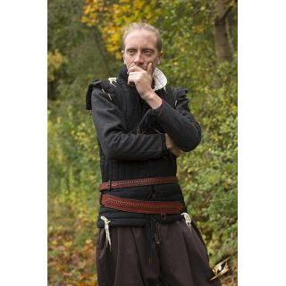 Sword Belt Laced - Brown - S/M Iron Fortress