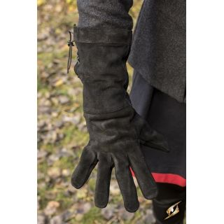 Leather Gloves - Black - S 110140145 Iron Fortress