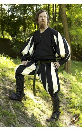 Landsknecht Pants - Epic Black/Off-white 301140S Iron Fortress