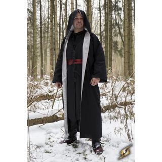 Magician Robe - Epic Black/Maroon - 6-10