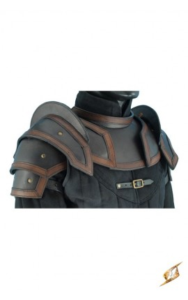 Shoulder Armour & Neck Guard - Bl/Br - L 100306 Iron Fortress