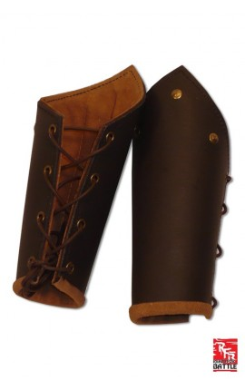 Ready For Battle Bracers Brown