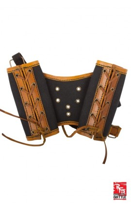 RFB Double Sword Harness - Brown/Black