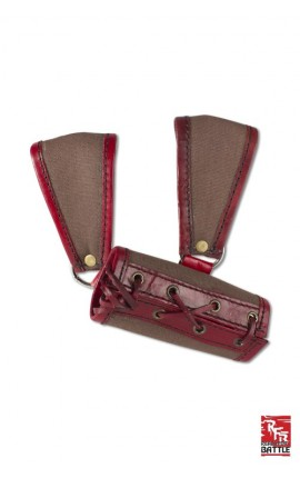 RFB Large Holder - Brown/Red (RH)
