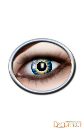 One Tone Lenses - Dark Blue and Yellow
